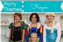 Party Themes: Frozen / by Mouse House Creations: Hayley Crouse