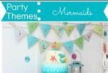 Party Themes: Mermaids / by Mouse House Creations: Hayley Crouse