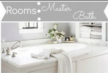 Rooms: Master Bath / by Mouse House Creations: Hayley Crouse