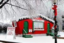 Le Case di Babbo Natale - Santa Claus Houses / Tutte le case dove abita Babbo Natale