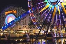 Travel to Disneyland / Travel tips for Disneyland in California. Vacationing at Disneyland. Where to stay at Disneyland.