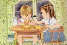 Adorable Eloise Wilkin Art Goodness  / My Favorite Children's Book Artist