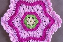 Granny Squares & Crocheted Goodness