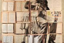 book arts / altered books, sculpture / by Liz Williams