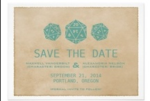Event Invites / inspiration for my bridezillas and groomzillas and partyzillas