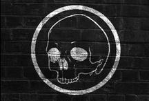 Skulls & Bones <3 / skulls & bones, from designey to macabre