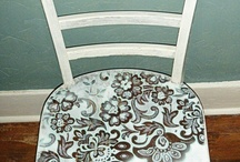 Painted Furniture Etc / Shabby Chic & distressed pieces / by Raye Ann Deere