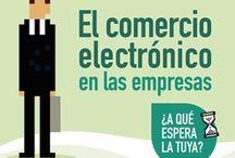 eCommerce / Comercio Electrónico en el amplio sentido de la palabra y normalmente vinculado al uso del ordenador. Engloba todas sus acepciones (B2B, B2C, B2A, Comercio Internacional, movilidad, geolocalización, etc.)