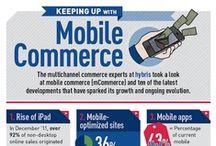 mCommerce / Mobile Commerce. El comercio electrónico realizado a través de dispositivos móviles (teléfonos inteligentes, smartphones, etc.)