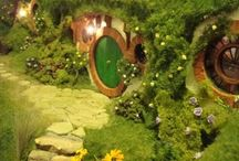 Hobbit hole miniatures