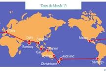 et si nous faisions le tour du monde?... / by Naria