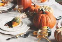 Thanksgiving. / Thanksgiving inspiration: recipes, tablescapes, decor, and more!