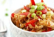 Chicken Entree Recipes. / Chicken recipes -- chicken main dish recipes -- chicken casseroles.