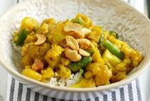Vegetarian Main Dish Recipes. / Vegetarian recipes for lunch and dinner. Veggie burgers, stews, and main dishes.
