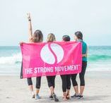 The Strong Movement / The Strong Movement™ is a women's lifestyle community that inspires women to become their best by building both a Strong Body and a Strong Mind through fitness, nutrition, healthy living and personal growth.