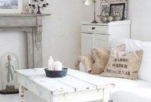 Pretty White interiors. / Simple, clean, gorgeous white interior design.