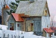 ♥~Buildings  Barns~♥ / Barns in all their glory and Character