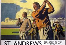 20th Century Golf / Vintage golf posters and photos