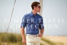 Summer Travel Collection / 2015 / Travel light in our lightest-weight linens, chambrays, and cotton piques.
