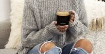 Cozy Sweaters / oversized sweater, cozy sweater, fall sweaters, winter sweaters, trendy sweater, off shoulder sweater, favorite sweater, jumpers, knit sweaters, lace up sweater