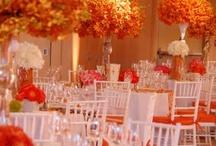 yellow-orange weddings