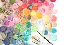 BRIGHT AND BEAUTIFUL / Bright neon colourful