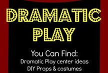 Dramatic Play Ideas / Activities, Projects, and Learning Centers that inspire creative and/or Dramatic play