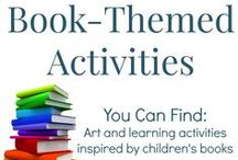 Book-themed Activities / Art and learning activities inspired by children's books