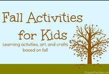 Fall / activities, art, and things to do for the Halloween & Thanksgiving