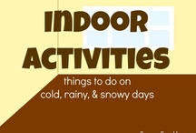 Indoor Activities / Ideas for keeping children moving while inside the house or classroom