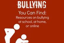 Bullying / Resources for parents and teachers on bullying