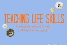 Life Skills / Ideas for how to teach children simple life skills for future success. / by Andie Jaye from Crayon Freckles
