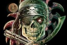 """Pirate Lore / This board serves as inspiration for my latest screenplay, """"Dead & Buried"""" / by Jeffrey Lynn Ward"""