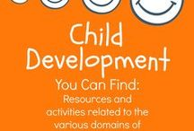 Child Development / Resources and activities related to the domains of child development.