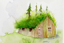 My Cottage in the Woods / Come and visit my cottage in the woods. I'm moving here someday. / by Cathryn Bay-Fowler