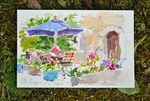 Watercolors / by M