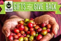 Fair Holidays - Fair Trade Gift Ideas! / The best gifts are ones that tell a story. This year, you can tell the story of helping farmers improve their communities when you give Fair Trade Certified gifts. Fair Trade USA's annual Holiday Gift Guide is filled with great ideas for everyone on your list. So go ahead and spread the holiday cheer while making a difference in the lives of famers and workers with every purchase. These products are available online. So shop away… / by Fair Trade USA