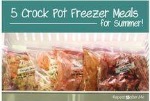 Food   Freezer to Crock Pot