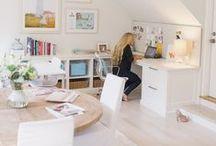 Studio / art studio | photography studio / by Julia Ryan | Pawleys Island Posh