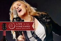 Live in the Vineyard / Sutter Home Family Vineyards is the official winery of Live in the Vineyard, a twice-yearly exclusive event in Napa Valley, California, featuring music, wine, and food. / by Sutter Home Wines