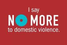 No More - Crisis Connection / http://nomore.org/   NO MORE is a new unifying symbol designed to galvanize greater awareness and action to end domestic violence and sexual assault.  Supported by major organizations working to address these urgent issues, NO MORE is gaining support with Americans nationwide, sparking new conversations about these problems and moving this cause higher on the public agenda.