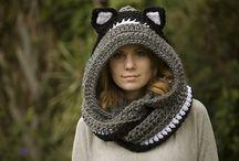 Crochet Scoodie / by Amanda Tissue