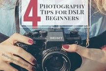 Photography | 101 for Beginners / Pins that are helpful for anyone who is new to photography, learning, or own a DSLR and aren't sure how to make the most of it.