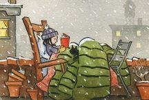 Cozy reading nooks / by Kieran Kramer
