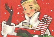 Vintage Christmas Cards / by Kieran Kramer