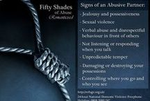 50 Shades Of Grey - Crisis Connection / Tie in to domestic violence / sexual assault / teen dating violence