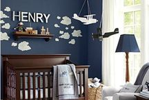 Baby's Room Ideas for a boy! / Different ways we can decorate the baby's room