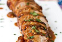 Recipes: Pork / by Kieran Kramer