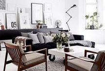 Scandinavian / vintage inspiration for your interior - unique furniture and decor | Scandinavian interiors