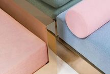 Color / pastel aesthetic and interior inspiration